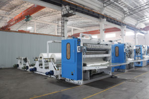 High Speed L Tissue Paper Folding Machine pictures & photos