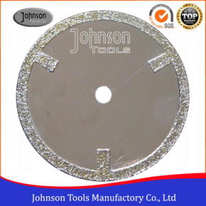 105-300mm Electroplated Diamond Saw Blades with Straight Protection Teeth for Marble and Granite Cutting pictures & photos