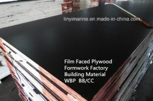 Film Faced/Construction Plywood Building /Formwork Factory with WBP pictures & photos