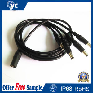 4 in 1 DC Female Extension Power Splitter Wire pictures & photos