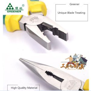 Labor-Saving Combination Pliers with Eccentric Rubber Handle pictures & photos