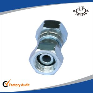 Jic Male 74 Degree Tee Hydraulic Pipe Fittings Adapter pictures & photos
