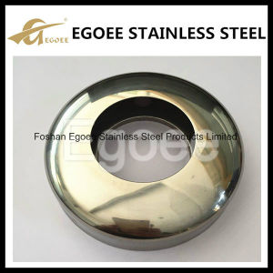 SUS304 316 Pole Base Cover Stainless Steel Handrail Protection Cover pictures & photos