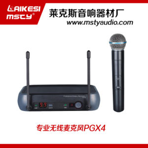 Pgx4 Wireless Microphone with Long Distance pictures & photos
