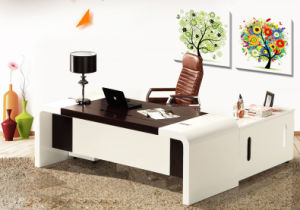 China Factory Price MDF Melamine Office Furniture (HX-5N171) pictures & photos