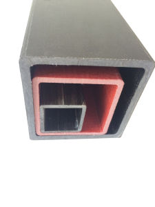 Pultruded Light Weight Square Pipe FRP (GH F007) pictures & photos