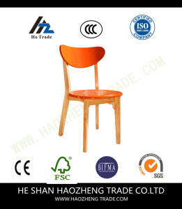 Hzpc120 Wooden Feet Plastic Chair Cushion pictures & photos