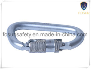 D Type Scaffolding Yellow Galvanized Steel Rescue Hook pictures & photos