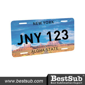 Sublimation American License Plate (6 in. X12 in., A) (MCP1530) pictures & photos
