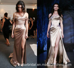 Blush Formal Gown off Shoulder Prom Party Evening Dress E15118 pictures & photos