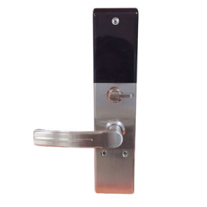 Home Security Touch Screen Fingerprint Code Door Lock pictures & photos