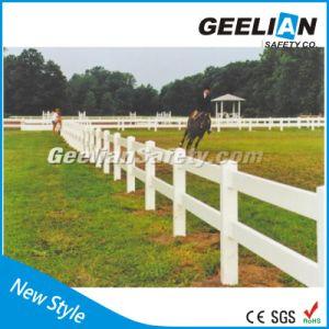 Cheap Portable Garden Plastic PVC Fence Panels pictures & photos