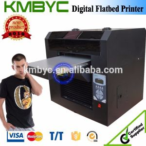 High Quality A3 Flatbed T Shirt Textile Printing Machine pictures & photos