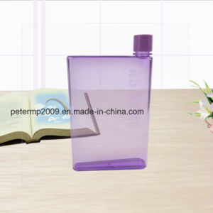 BPA Free Plastic A5 Note Book Water Bottle pictures & photos