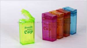 OEM Creative Juice Water Bottle Straw Cup with Lighter Shaped pictures & photos