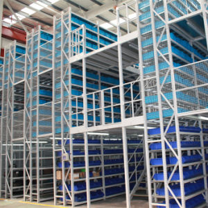 Storage Multi-Lever Shelves Rack Storage Mezzanine Floor Racking pictures & photos