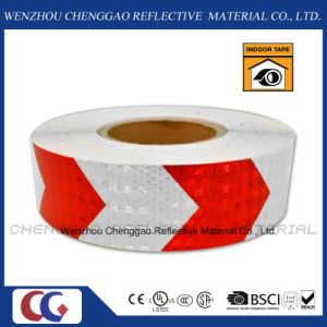 Conspicuity Reflective Safety Caution Warning Tape with Arrow (C3500-AW) pictures & photos