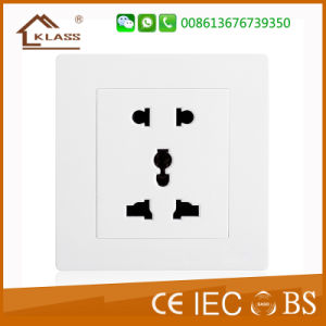 Hot Sale 5 Pins Electronic Plug Power Socket pictures & photos