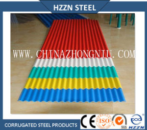 Color Coated Corrugated Roofing Tiles pictures & photos