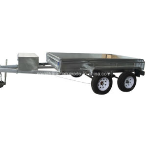 2016 Hydraulic 10X5 Tandem Box Trailer pictures & photos