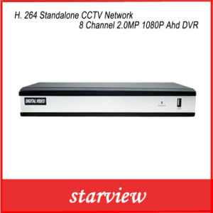 H. 264 Standalone CCTV Network 8 Channel 2.0MP 1080P Ahd DVR pictures & photos