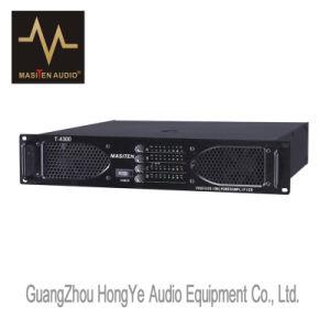 T-4600 600W Four Channels Professional Audio Amplifier pictures & photos