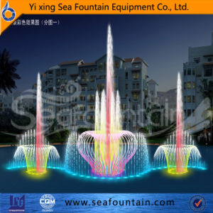 Wooden Package Lake Floating 3D Nozzle Fountain Manufacturer pictures & photos