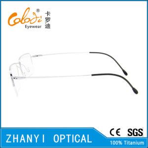 Simple Beta Titanium Eyewear Eyeglass Optical Glasses Frame (8509) pictures & photos