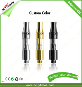 Ocitytimes Customized E-Cigarette Glass C19 510 Thread Cartridge pictures & photos