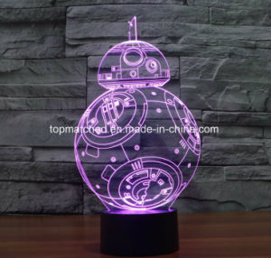 New Star Wars Colorful 3D Lights, Visual 3D Light, LED 3D Night Light pictures & photos