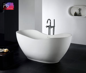 Cheap Cost High Quality Resin Stone Kerala Soft Bathtub pictures & photos