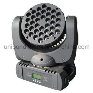 IP 65 LED Bulb 36PCS*3W LED Beam Moving Head Light Wash Beam Stage Light pictures & photos