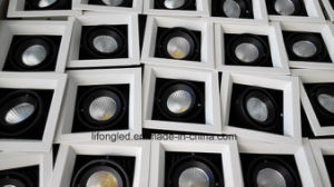Recessed LED COB Grille Lamp 2*7W Double Head Downlight pictures & photos