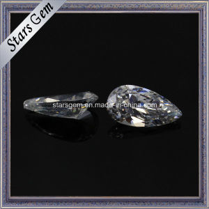 Fashion Jewellery Drop Shape Synthetic CZ Gemstone pictures & photos