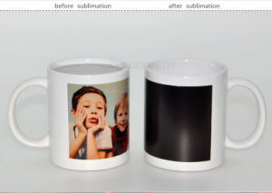 Sublimation Colour Change Mug, High Quality Ceramic Mug pictures & photos