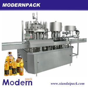 Automatic Engine Oil Filling Machine /Vegetable Oil for Cooking Filling Machine pictures & photos