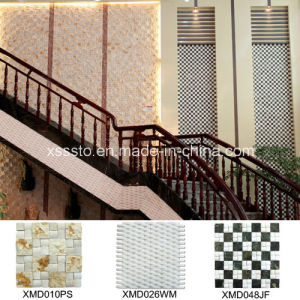 Mixed Color Marble Mosaic Tile for Indoor Decoration pictures & photos