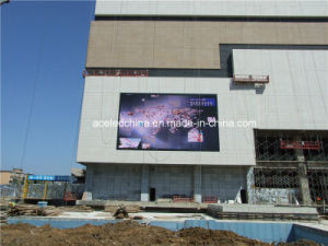 Super Slim 500mm X 500mm P4.81 Outdoor LED Display Board pictures & photos