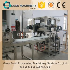 Ce Snack Food Machine Automatic Twix Bar Forming Cutting Line (TPX400) pictures & photos