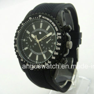 China Manufacturer Plastic Watch, Hot Sale Silicone Wristwatch