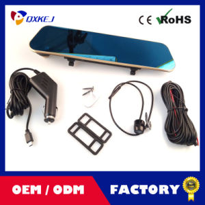 "4.3""LCD Car DVR Video Rearview Mirror Recorder Night Vision HD Camera Tachograph pictures & photos"
