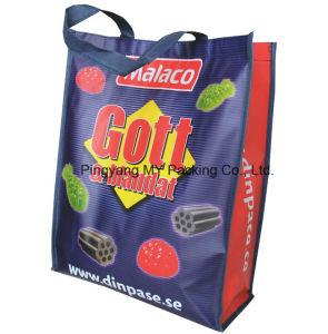 Custom Print BOPP Lamination Non Woven Promotion Bag pictures & photos