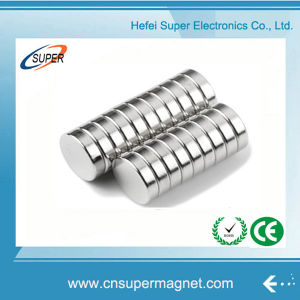 China Sintered Neodymium Cylinder Magnet pictures & photos
