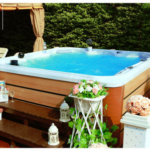 Family Exterior SPA Outdoor Hot Tub Spabad with WiFi pictures & photos
