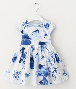 Little Girls Clothing Children Clothes Kids Wear Dresses for Summer pictures & photos