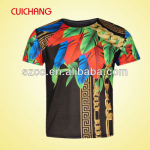 Custom Latest Design Men Fashion T Shirt Price China pictures & photos