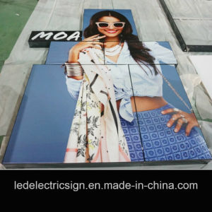 Shopping Malls Clothing Advertising LED Ultra-Thin Light Box pictures & photos