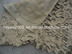 Fire Retardant/Anti-Riat/Heat Resistant/Sun Shade Military Camouflage Net pictures & photos