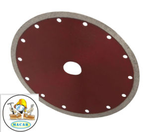 4.5′′ Continuous Rim Diamond Saw Blades for Marble pictures & photos