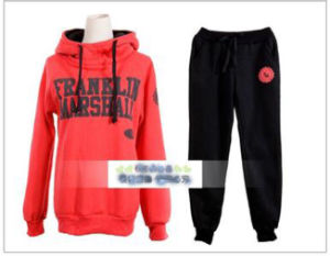 Custom Cotton/Polyester Printed Sweatshirt&Pant of Fleece Terry (F144) pictures & photos